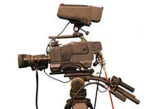 Cámara de vídeo Imagen de archivo libre de regalías