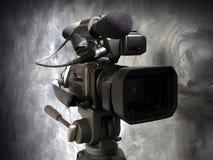 Cámara de vídeo de Digitaces imagen de archivo libre de regalías