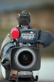 Cámara de vídeo de Digitaces Imagen de archivo
