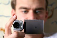 Cámara de vídeo de Digitaces Fotografía de archivo