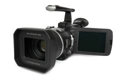 Cámara de vídeo de Digitaces foto de archivo libre de regalías