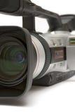 Cámara de vídeo de Digitaces (opinión de la Delantero-Cara del detalle) Imagen de archivo libre de regalías