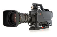 Cámara de vídeo de la alta definición Imágenes de archivo libres de regalías