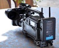 Cámara de vídeo de Sony Fotos de archivo