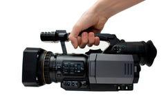 Cámara de vídeo digital profesional imagen de archivo