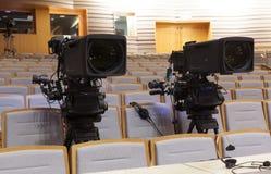 Cámara de vídeo digital profesional accesorios para las cámaras de vídeo 4k Foto de archivo