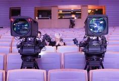 Cámara de vídeo digital profesional accesorios para las cámaras de vídeo 4k Fotos de archivo