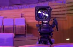 Cámara de vídeo digital profesional accesorios para las cámaras de vídeo 4k Imagen de archivo