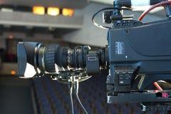 Cámara de vídeo digital profesional accesorios para las cámaras de vídeo 4k Imagen de archivo libre de regalías