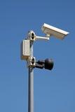 Cámara de vigilancia Imágenes de archivo libres de regalías