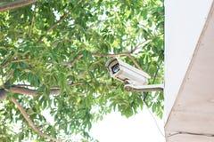 Cámara de vigilancia o CCTV Foto de archivo libre de regalías