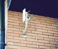 Cámara de vigilancia Cámara de vídeo de la seguridad Imagen de archivo