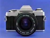cámara del slr de 35m m Imágenes de archivo libres de regalías