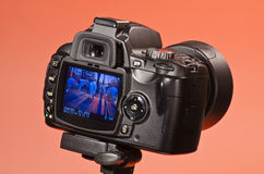 Cámara digital Fotos de archivo