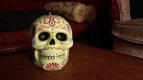 Cámara Dolly Move Into Skull