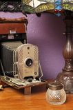Cámara en el aparador Foto de archivo