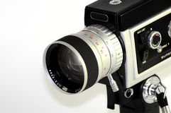 Cámara estupenda de 8 películas imagen de archivo libre de regalías