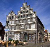 Cámara histórica de edificio del Comercio, Lueneburg fotografía de archivo libre de regalías