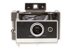 Cámara inmediata de la película de la vendimia Imágenes de archivo libres de regalías