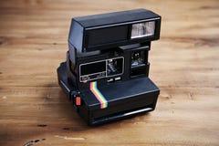 Cámara instantánea del vintage Foto de archivo libre de regalías