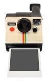 Cámara instantánea polaroid Fotografía de archivo