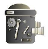 Cámara móvil de la vendimia Imagen de archivo libre de regalías
