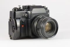 Cámara obsoleta de SLR de la película Fotos de archivo libres de regalías