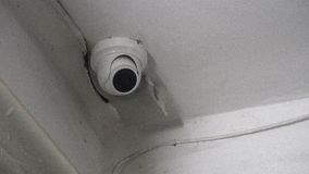 Cámara ocultada cámara CCTV montada cerca del apartamento