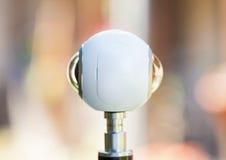 cámara panorámica del viaje virtual de 360 grados Imagenes de archivo