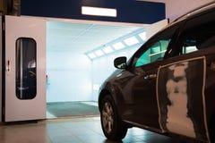 Cámara para la coloración del coche imagen de archivo libre de regalías