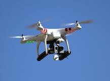 Cámara para la fotografía aérea Foto de archivo libre de regalías