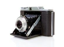 Cámara pasada de moda de la foto en blanco imagen de archivo libre de regalías