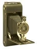 Cámara plegable de la película de los bramidos del vintage Imagen de archivo