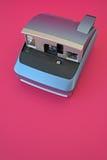 Cámara polaroid de la vendimia imagenes de archivo