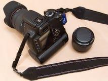Cámara rebelde del dSLR del FOE 350D Digitaces de Canon (sin marca) Foto de archivo libre de regalías