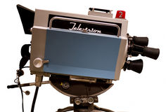 Cámara retra del estudio de la TV Foto de archivo libre de regalías