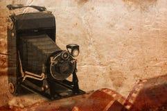 Cámara retra del formato medio Fotos de archivo libres de regalías