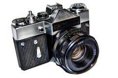 Cámara rusa vieja de la foto Fotografía de archivo libre de regalías