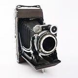 Cámara vieja de la foto de la película Fotografía de archivo libre de regalías