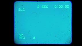 Cámara vieja del visor almacen de metraje de vídeo