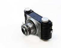 cámara y lente viejas de los años 30 Imágenes de archivo libres de regalías