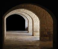 Cámaras acorazadas de piedra Foto de archivo libre de regalías