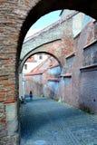 Cámaras acorazadas en Sibiu, capital europea de la cultura por el año 2007 Fotos de archivo libres de regalías