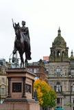 Cámaras de la ciudad en George Square, Glasgow, Escocia Foto de archivo