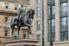 Cámaras de la ciudad en George Square, Glasgow, Escocia Imagen de archivo