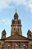 Cámaras de la ciudad en George Square, Glasgow, Escocia Imágenes de archivo libres de regalías
