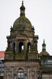 Cámaras de la ciudad en George Square, Glasgow, Escocia Fotos de archivo