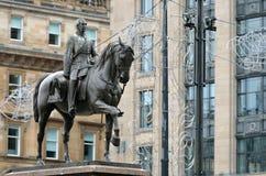 Cámaras de la ciudad en George Square, Glasgow, Escocia Fotografía de archivo