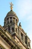 Cámaras de la ciudad en George Square, Glasgow, Escocia Imagenes de archivo