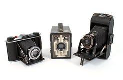 Cámaras de la película de la vendimia Imagen de archivo libre de regalías
